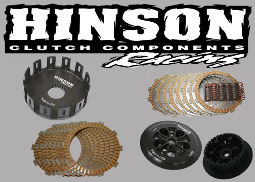 Hinson Billetproof Clutch Basket Cushions Suzuki RMZ250 RMZ 250 2007-2009
